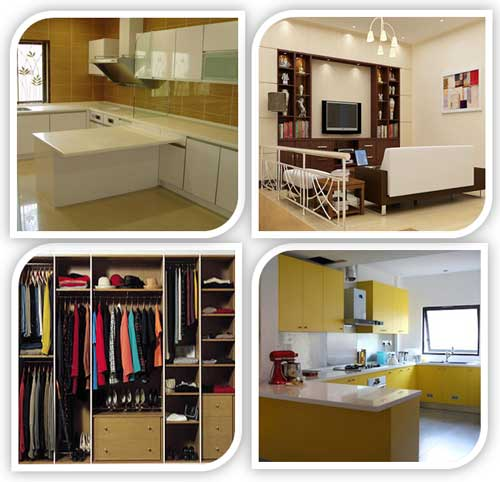 Produk In Space Decor - Kabinet Dapur, Wardrobe (Almari Pakaian) , Kabinet TV